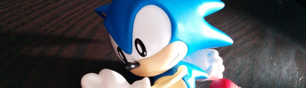Sonic vinyl banner