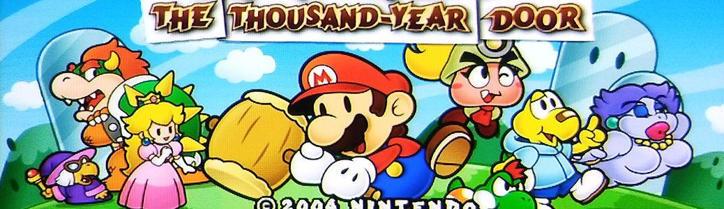 Paper Mario GameCube 480p banner
