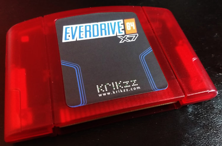 Everdrive 64 X7 Red