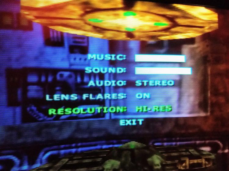 N64 Star Wars Racer Hi-Res mode