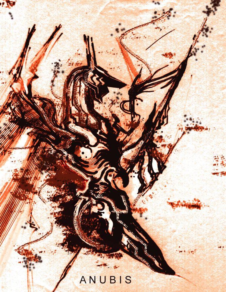 Anubis artwork