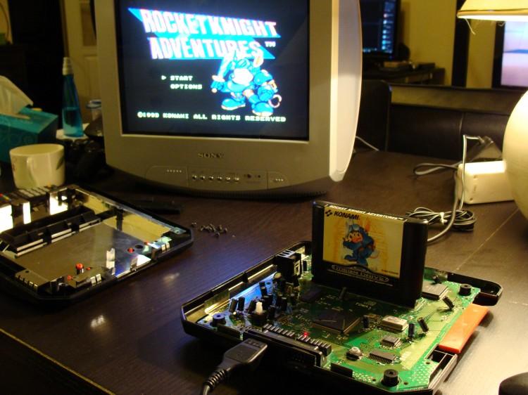 Mega Drive en marche