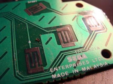 Contact manette Mega Drive