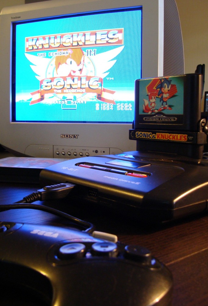 Mega Drive Sonic 2 & Knuckles