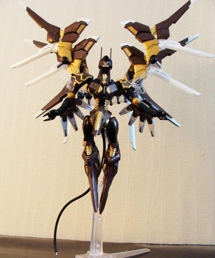 ZOE Anubis ailes déployées