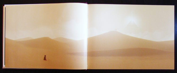Art of Journey double page