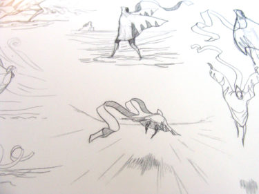 Art of Journey croquis