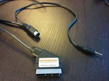 SCART cable Genesis