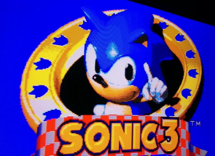 Sonic 3 CRT