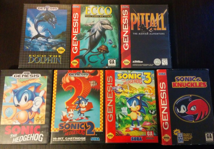 Colection genesis NTSC