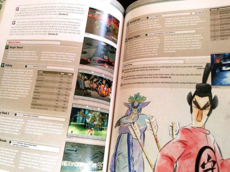 Ôkami official guide