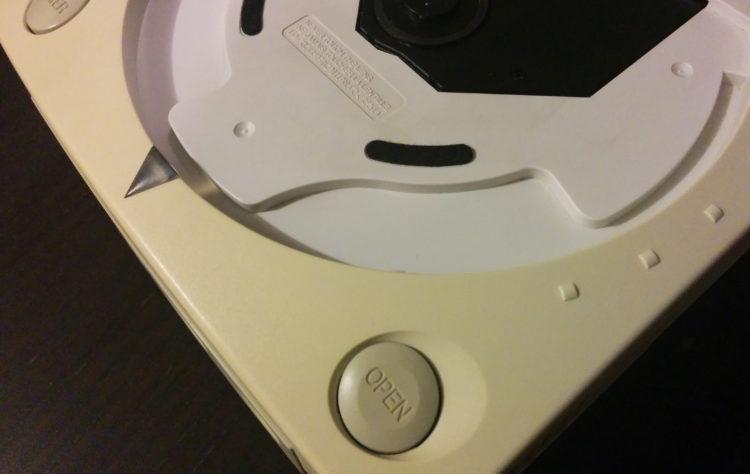 SEGA Dreamcast console jaunissement