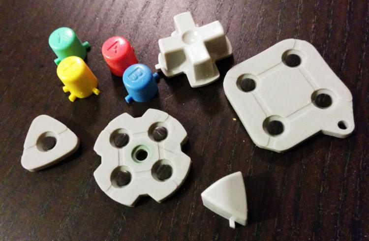 SEGA Dreamcast controller parts