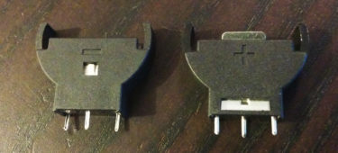 Lithium battery slot 3 pin