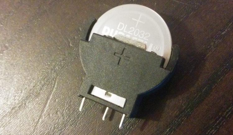 Lithium battery socket 3 pin