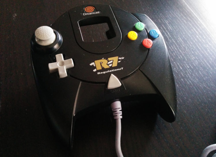 Dreamcast R7 controller
