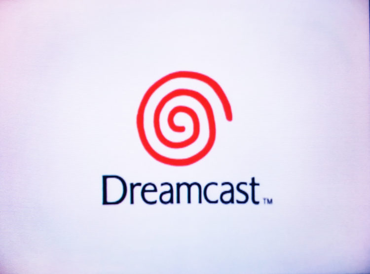 Dreamcast logo boot screen