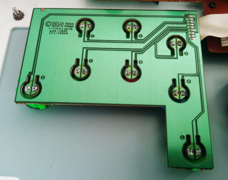 HSS-0136 - Buttons PCB