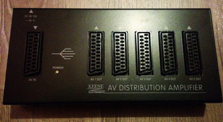Keene AV Distribution Amplifier