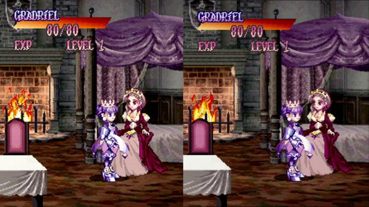 Princess Crown upscale comparison