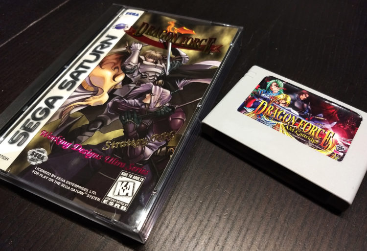 Dragon Force NTSC-US CIB