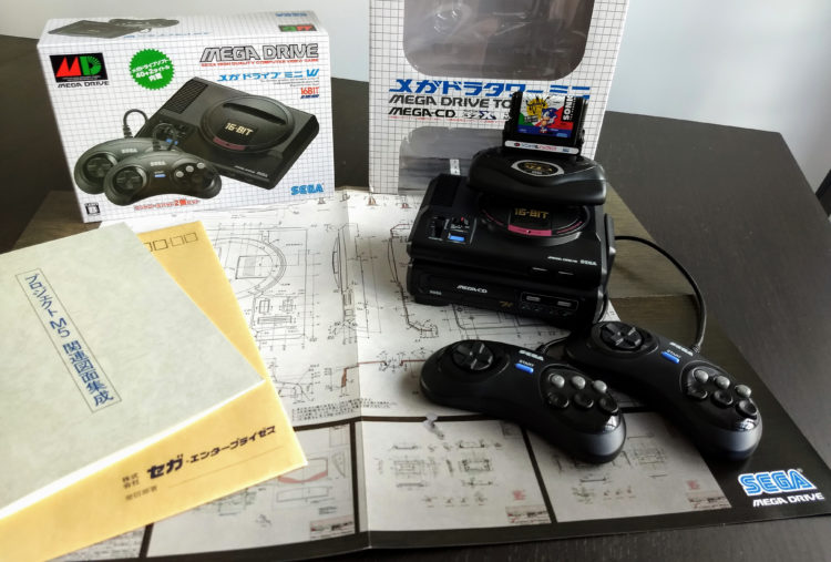 Megadrive Mini Tower of Power JP