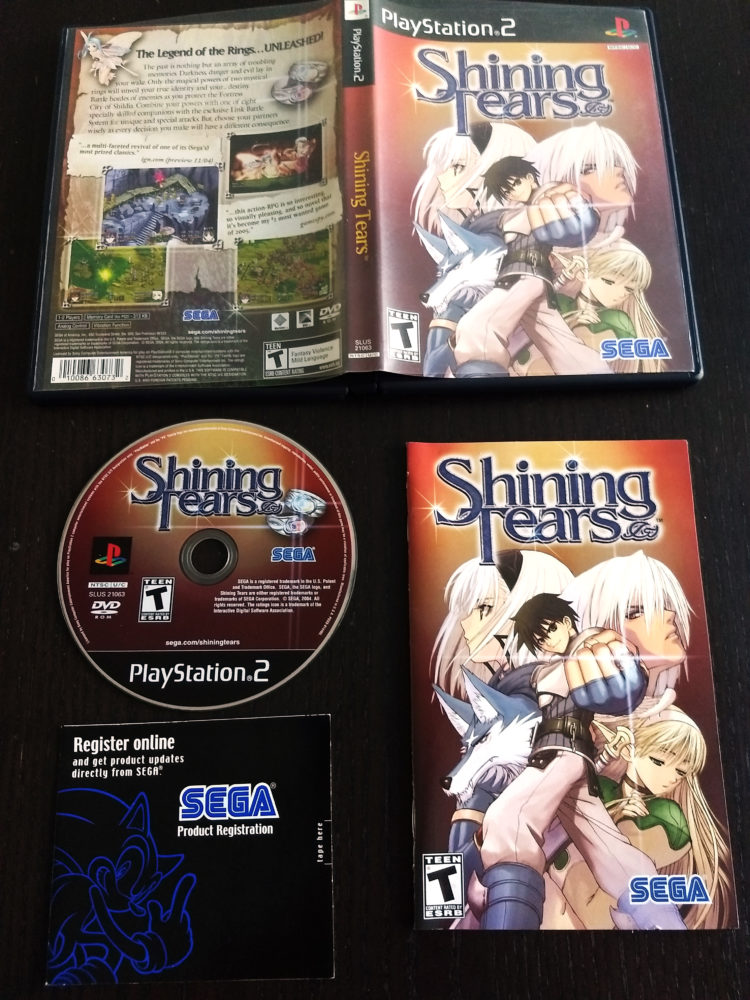 Shining Tears NTSC-US CIB