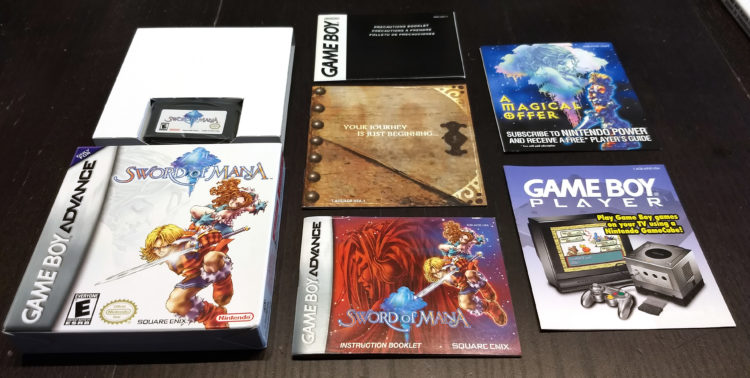 Sword of Mana US CIB