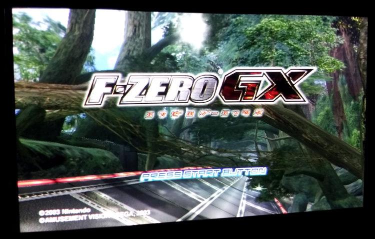 F Zero GX GameCube 480p