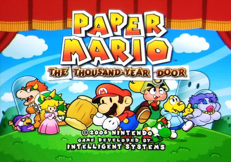 Paper Mario GameCube 480p