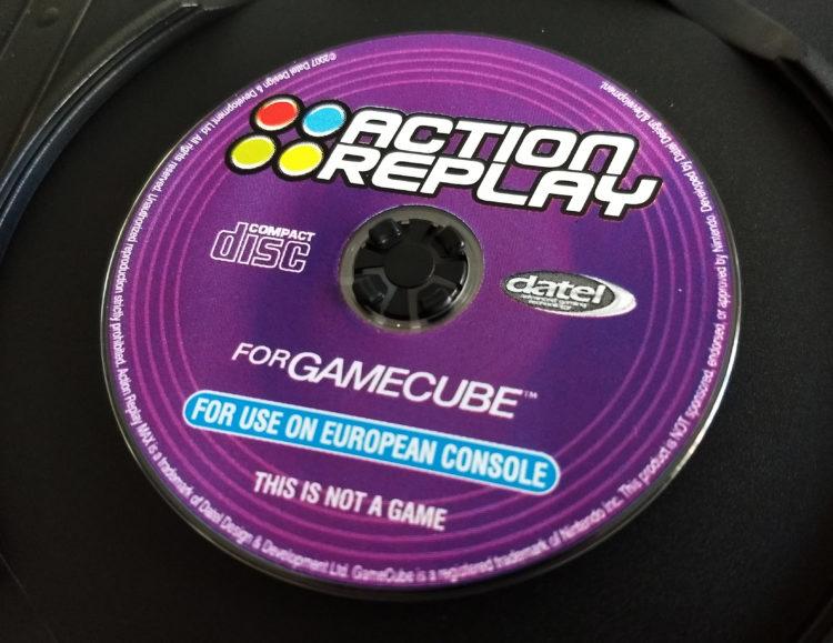 Datel GameCube SD Media Launcher disc