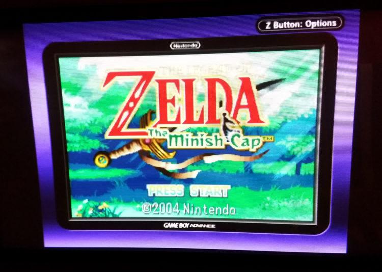 Game Boy Player UI