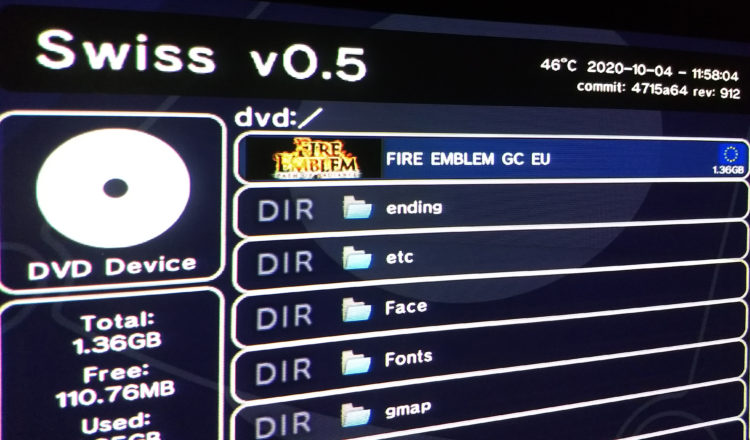 GameCube Swiss game
