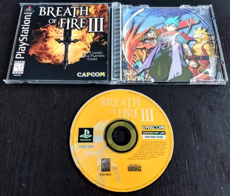 Breath of Fire III PSX