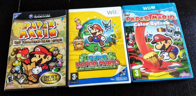 Paper Mario Collection