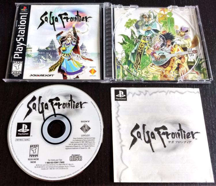 Saga Frontier PSX