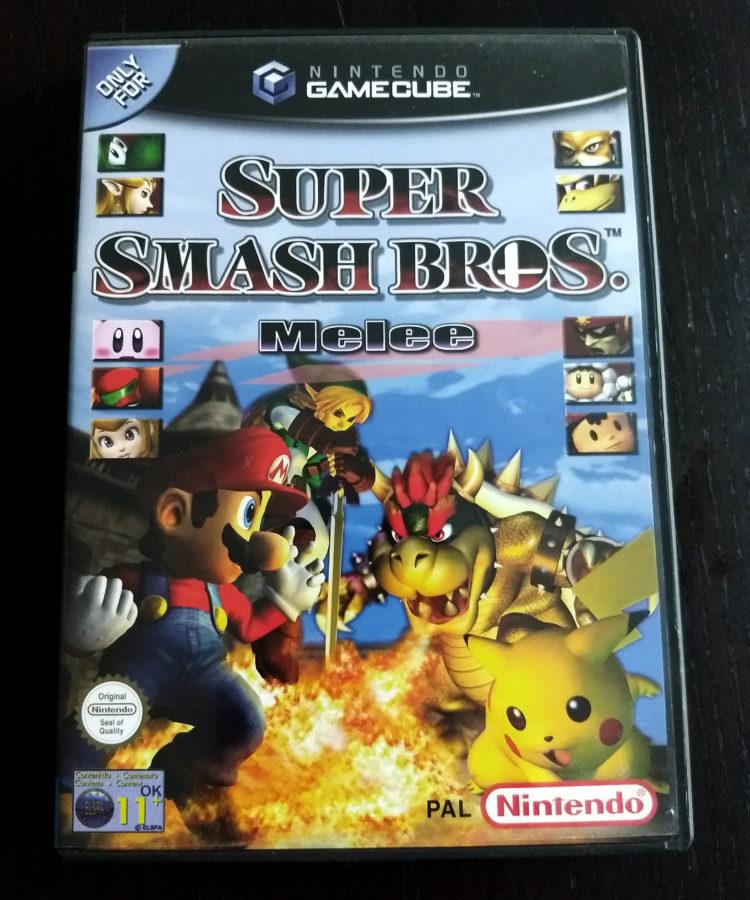 Smash Bros Melee NGC PAL