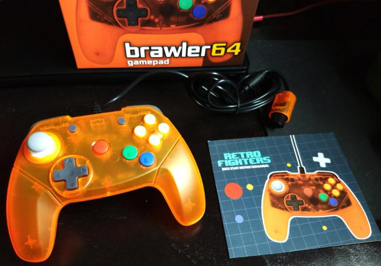 N64 Retrofighters Brawler 64 controller